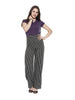 Women'S Bamboo Classic Crew Neck T-Shirt - Midnight Plum (AWFT001P)