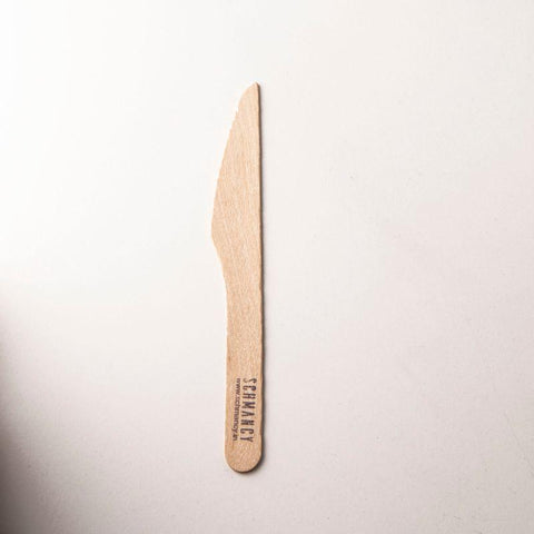 Biodegradable Wooden Knives (Pack of 100)