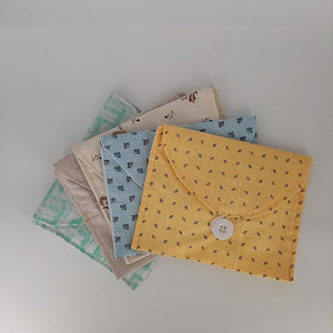 Pad Pouch Made of Recycled Cloth - Pack of 4