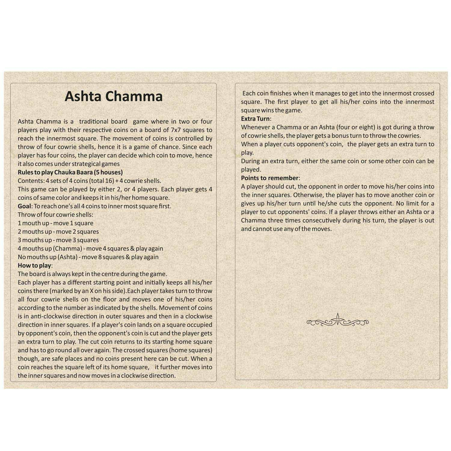 Ashta Chamma Native Game