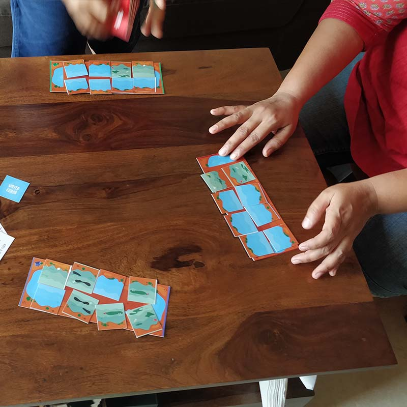 Action For Aqua Board Game