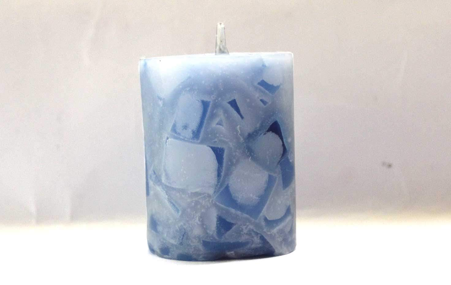 Chip Candle created by artisans with disability (Set of 2)