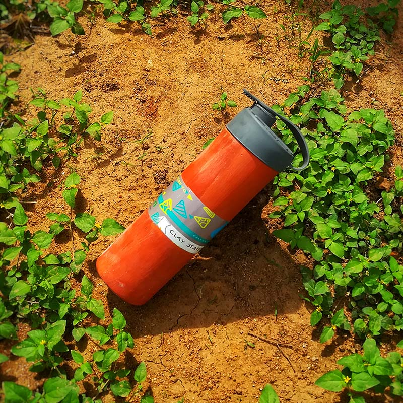 Clay Water Bottle