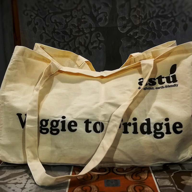 Partition Veggie-To-Fridgie Bag (Copper Beech)