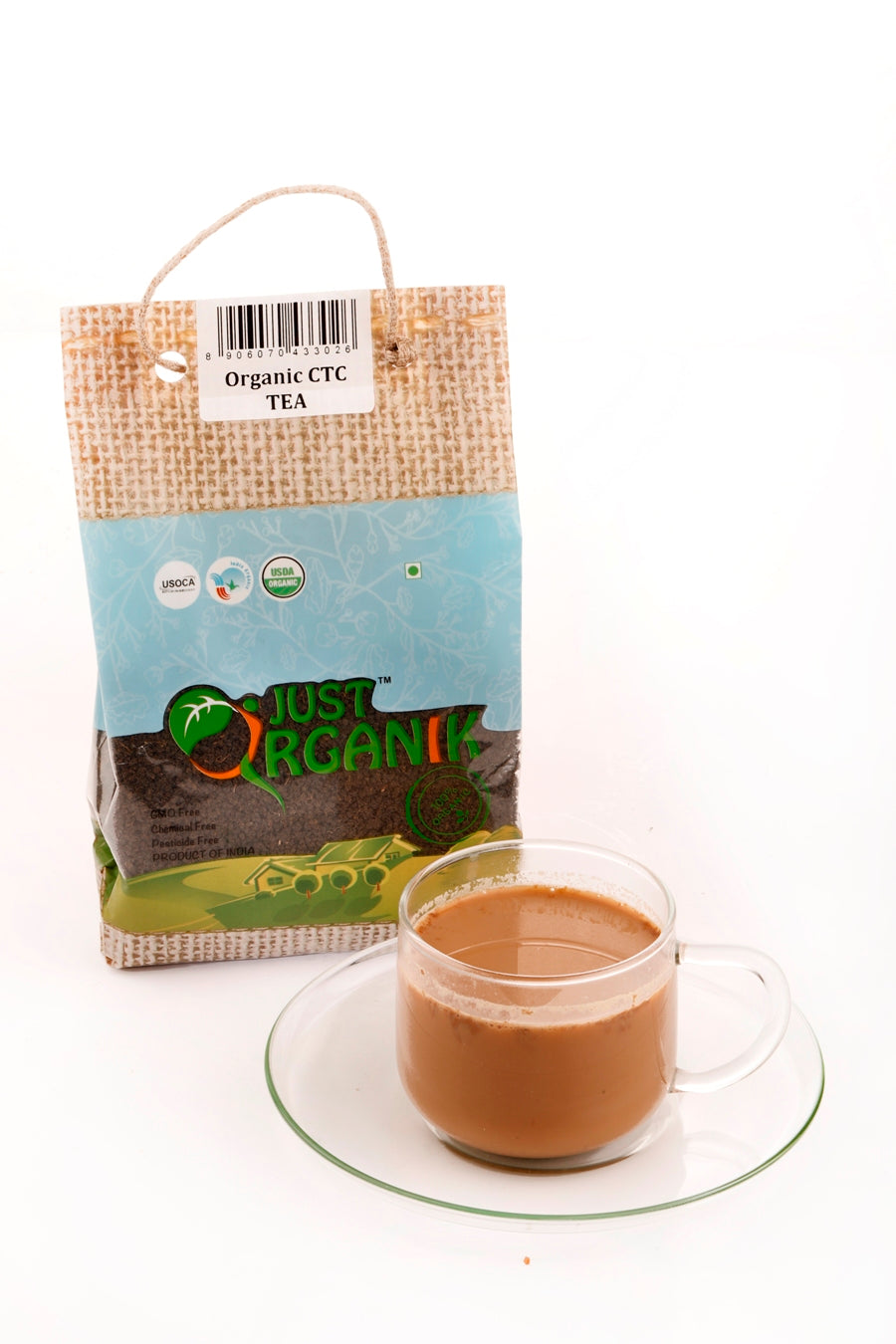 Organic CTC Tea from JustOrganik