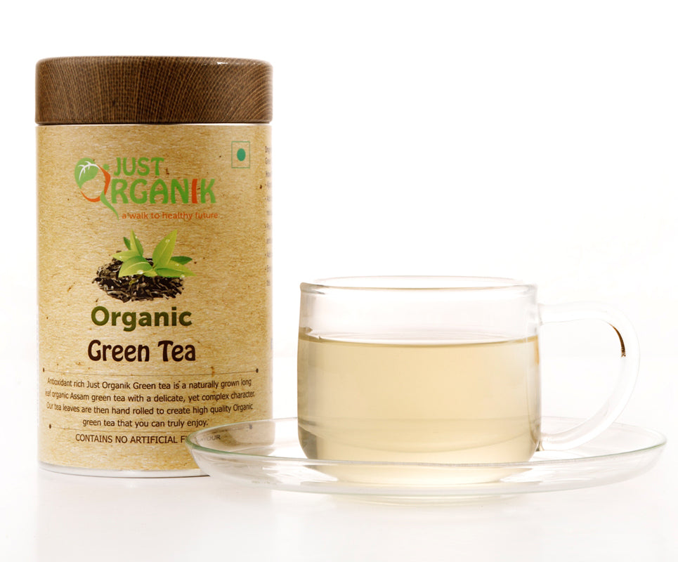 Organic Green Tea from JustOrganik