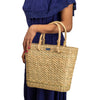 Handcrafted and Eco-friendly Kauna Reed Small Market Bag