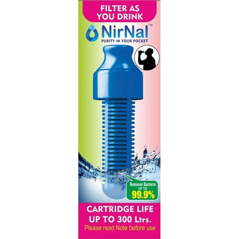 NirNal Advanced Portable Water Filter for Bottles (Pack of 3)