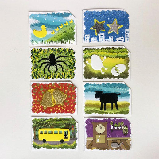 Children's Nursery Rhymes - Tactile Multi-Sensory Cards for