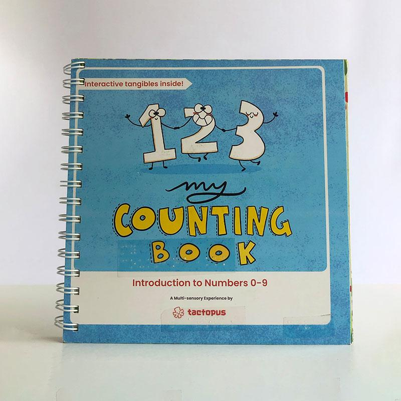 Counting Book and Cards for Children With Learning Disabilities and/ or Vision Impairment