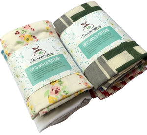 Eco-Friendly Cotton Gift Bags - Pack of 6