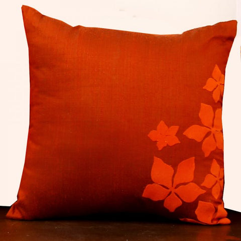 Rustic Hues Cushion Cover - 12 created by traditional artisan communities