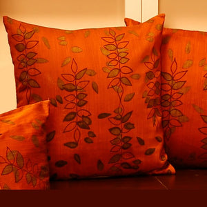 Earthen Cushion Cover - 11 created by traditional artisan communities