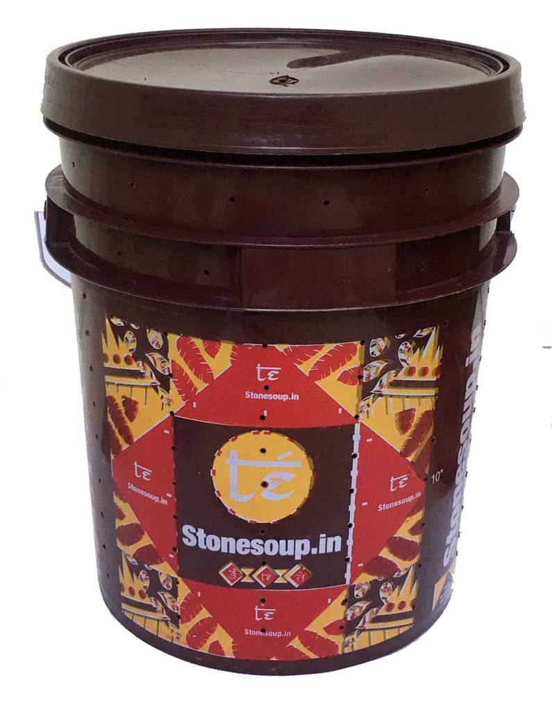Te' Stackable Aerobic Home Composting Kit