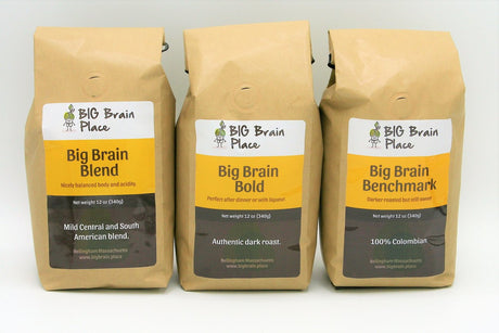 Big Brain Coffee Collection