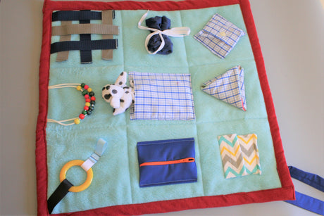Fidget and Sensory Blanket