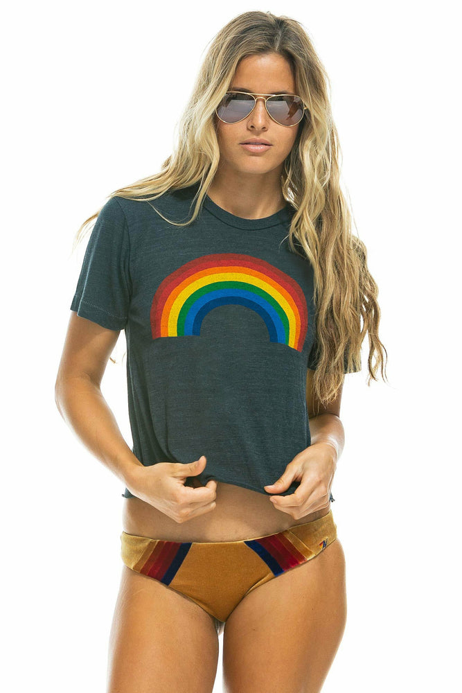 Big Rainbow Boyfriend Tee - WEST2WESTPORT.com