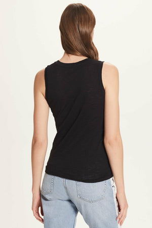 Load image into Gallery viewer, Goldie tees v neck tank at west2westport.com