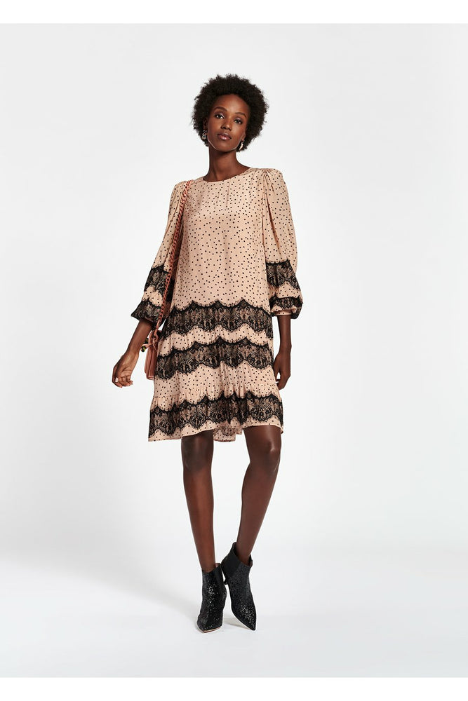 Essentiel Antwerp Zalza Lace Trim Dress - WEST2WESTPORT.com