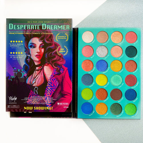 Desparate Dreamer RudeFlix 24 color Eyeshadow Palette