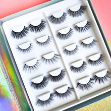 Load image into Gallery viewer, Mini Lash Diary Full of 10 Pairs of Lashes!