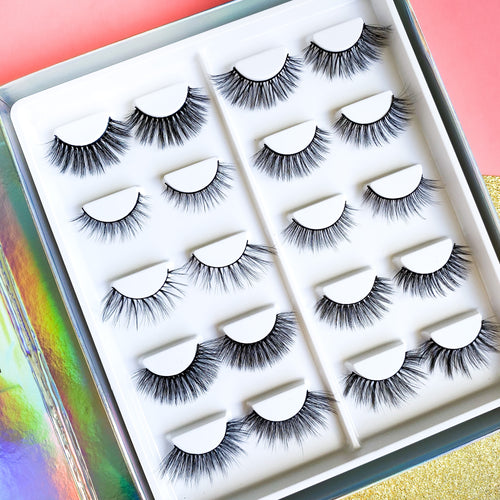 Mini Lash Diary Full of 10 Pairs of Lashes!