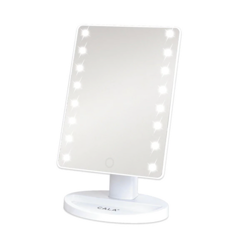 LED VANITY MIRROR: WHITE