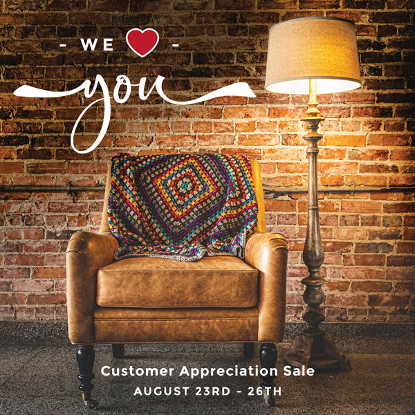 Customer Appreciation Weekend Update!
