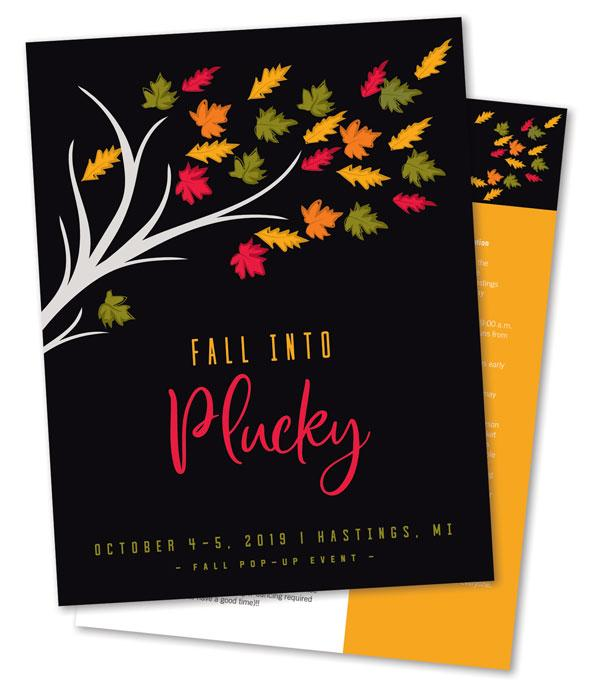 Fall Into Plucky - Friday Evening Event Ticket!