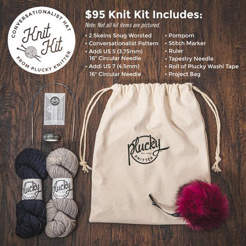 A Knitting Beginners Kit!