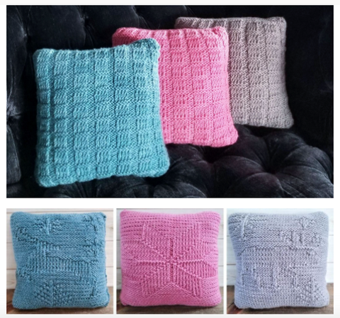 Winter Shadows Pillow Kit 13 - URBAN