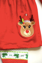 Load image into Gallery viewer, Red Reindeer 3 piece outfit
