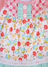Load image into Gallery viewer, Fun in Floral two piece outfit