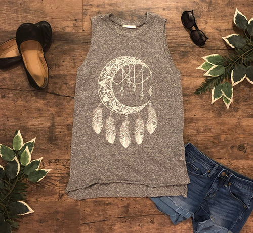 Dream Catcher Tank •Grey