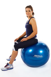 FIT BALL 65CM BLUE (NEW)