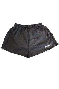 SQUARE CUT RUNNING SHORTS