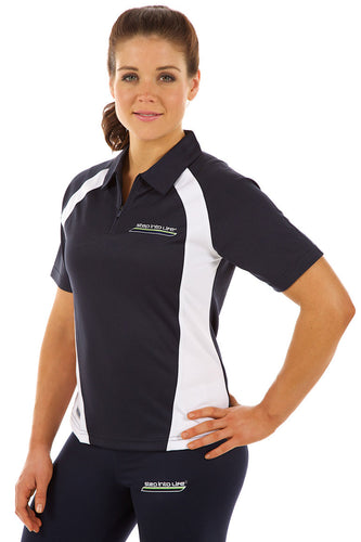 LADIES BLITZ POLO NAVY