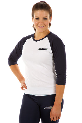 PT LADIES 3/4 RAGLAN SLEEVE