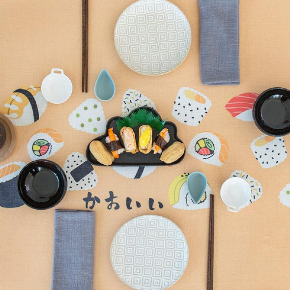 Sushi Kitchen Indoor / Outdoor Tablecloth