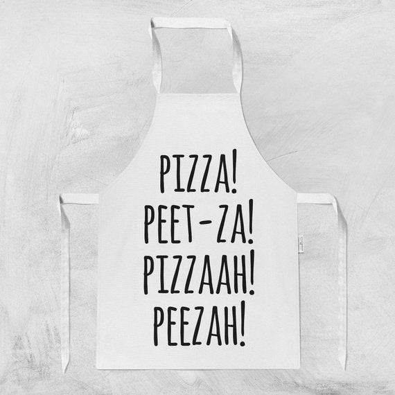 Pizza Cooking Gifts Kitchen Apron Hostess Gift