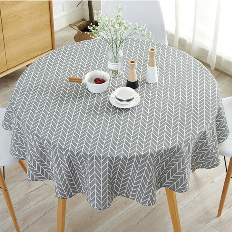 Nordic Round Tablecloth
