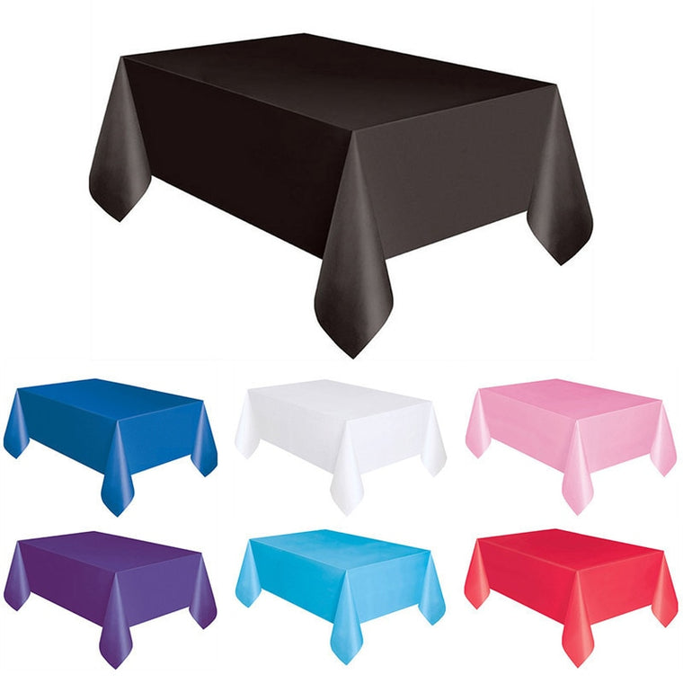 Multi-color Disposable Table Cloth