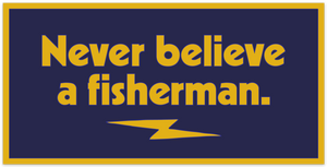Non Believer Bumper Sticker - Slackertide