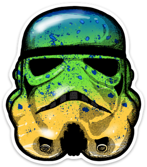Mahi Trooper Sticker - Slackertide