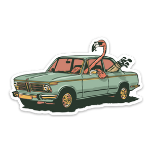 Birdie Blvd Sticker