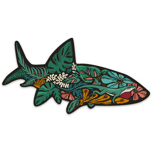 Flora Bonefish Sticker