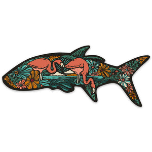 Flora Tarpon Sticker
