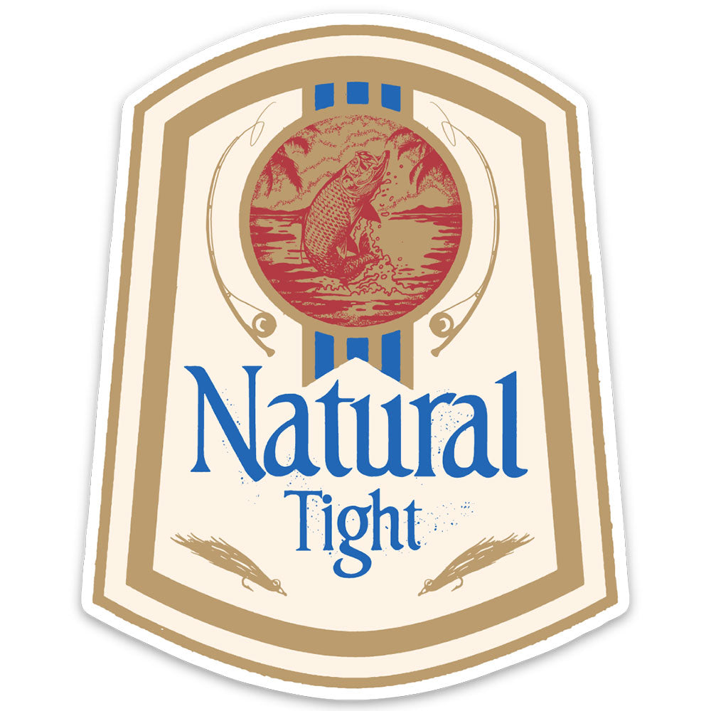 Natural Tight Sticker
