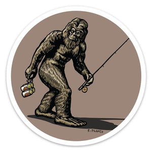 Sascatch Sticker - Slackertide
