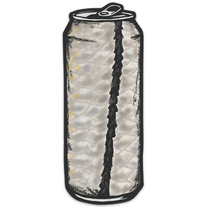 Snook Tallboy Sticker - Slackertide